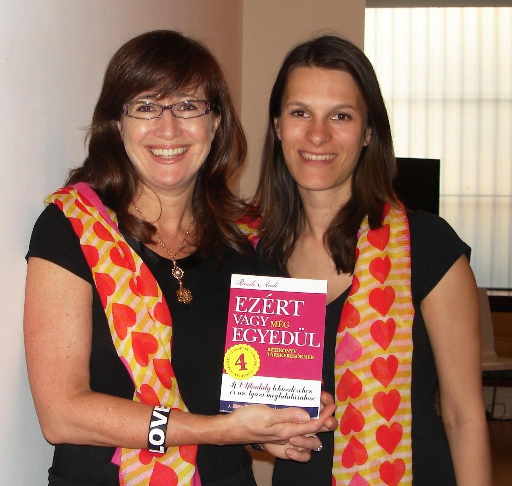 Randi Andi és Rachel Greenwald New York Times bestseller író, az USA egyik legismertebb randiguruja